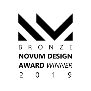 BRONZE Novum Design Award Winner 2019