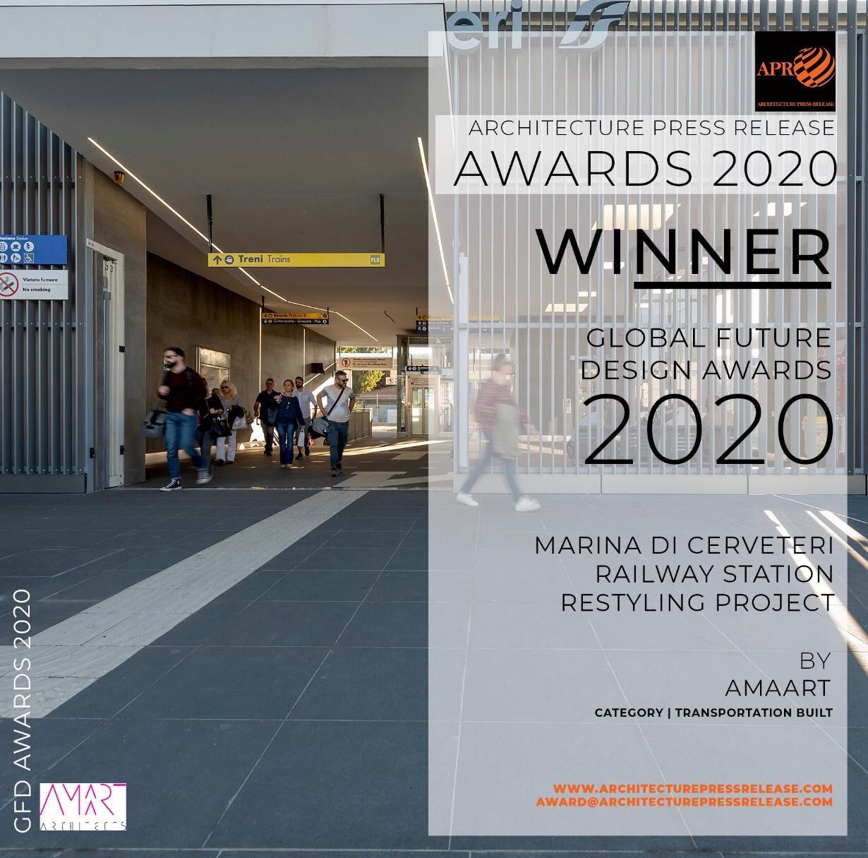 Winner Award 2020 - APR - GFDA