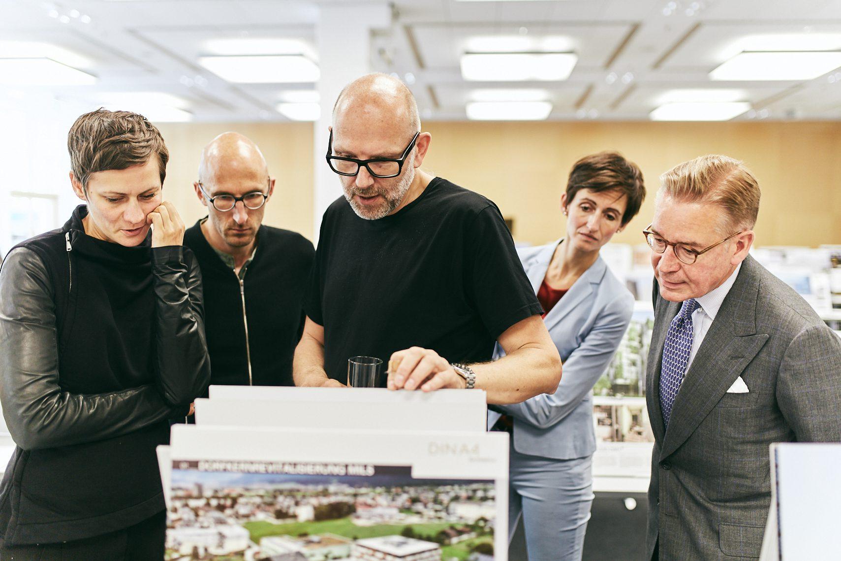 Iconic Award - Innovative Architecture-Jurysitzung
